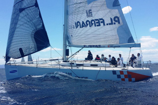 """FLYING THE FLAG FOR OUR SPONSORS """"POSIDONIA CUP – 2014"""", FRI. MAY 30"""
